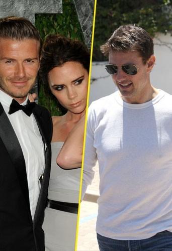 Photos : Victoria Beckham aurait-elle des vues sur Tom Cruise ?