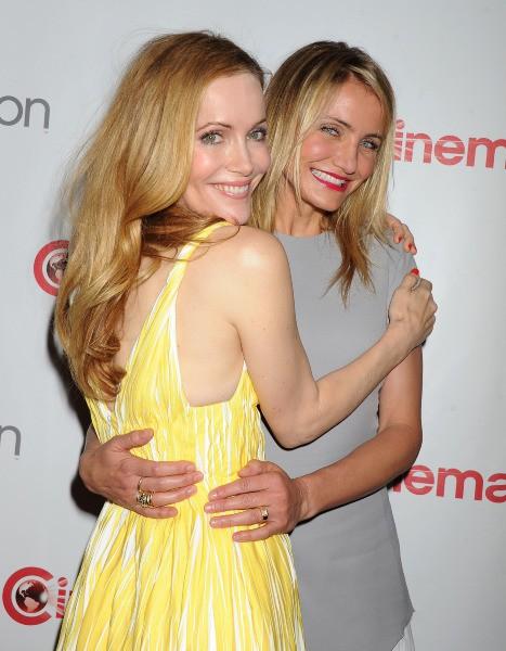 Leslie Mann et Cameron Diaz lors du CinemaCon à Las Vegas, le 27 mars 2014.
