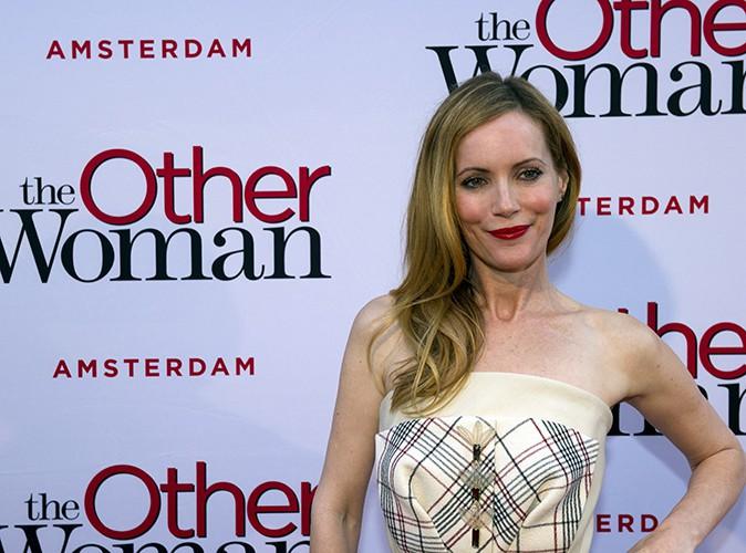 Leslie Mann à Amsterdam le 1er avril 2014