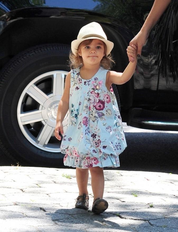 Vida McConaughey et ses enfants au zoo de central Park à New York, le 28 juin 2012.