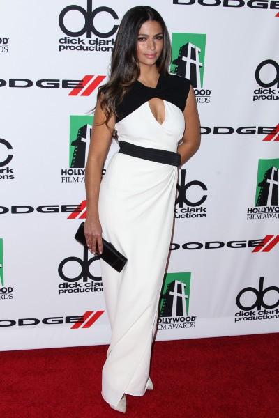 Camila Alves lors de la soirée des Hollywood Film Awards à Beverly Hills, le 21 octobre 2013.