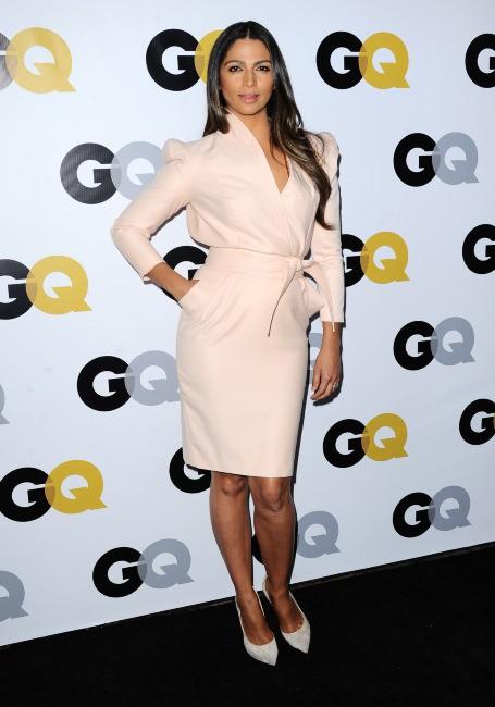 """Camila Alves lors de la soirée """"GQ Men of the Year"""" à Los Angeles, le 12 novembre 2013."""