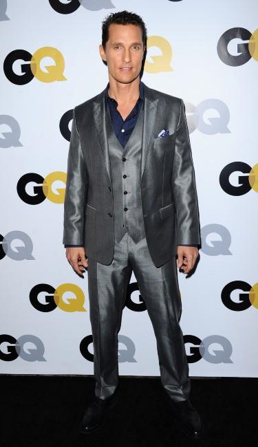 """Matthew McConaughey lors de la soirée """"GQ Men of the Year"""" à Los Angeles, le 12 novembre 2013."""