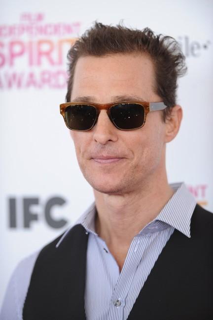 Matthew McConaughey le 23 février 2013 à Santa Monica