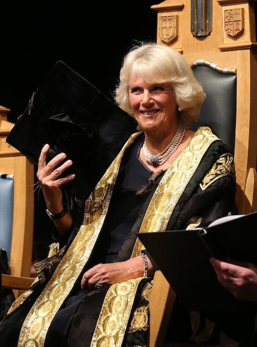 Camilla Parker Bowles devient membre honorifique de l'université d'Aberdeen