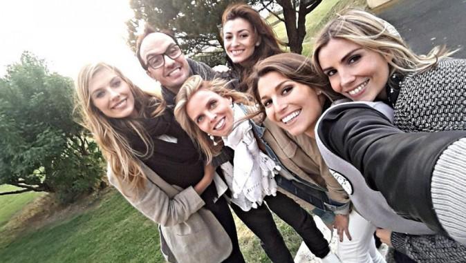 Camille Cerf, Sylvie Tellier, Laury Thilleman, Alexandra Rosenfeld, Rachel Legrain-Trapani et Jarry