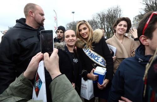 Camille Cerf à Lille le 21 mars 2015