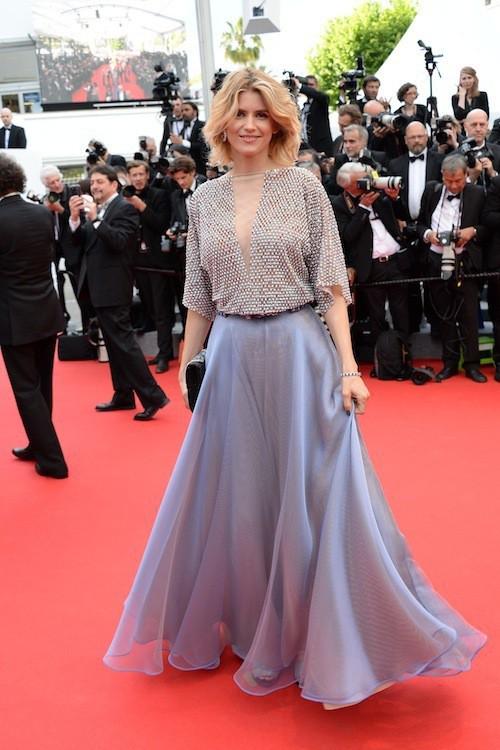Alice Taglioni pour la première montée des marches du 67ème festival de Cannes