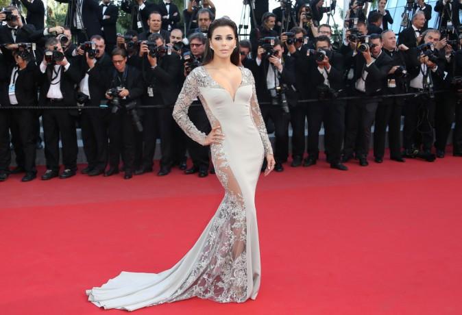 Photos : Cannes 2015 : Eva Longoria et Andie MacDowell : deux bombes L'Oréal sur le redcarpet !