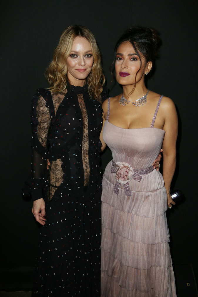Cannes 2016 : Vanessa Paradis et Salma Hayek complices et sexy !