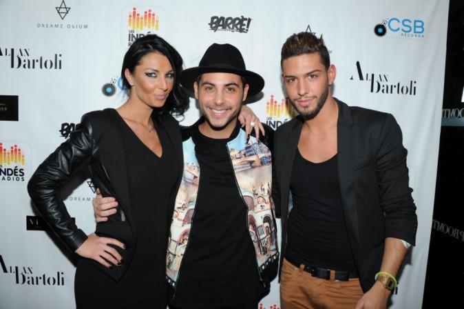 Alicia, Alban Bartoli et Sacha