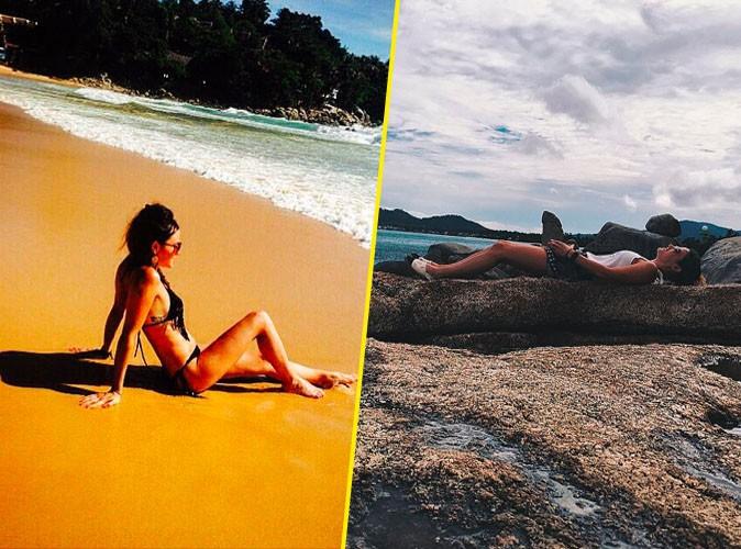 Capucine Anav en vacances en Thaïlande