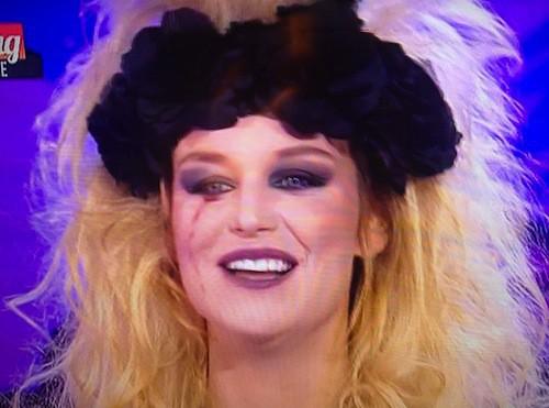 Aurélie Van Daelen sur Le Mag pour Halloween