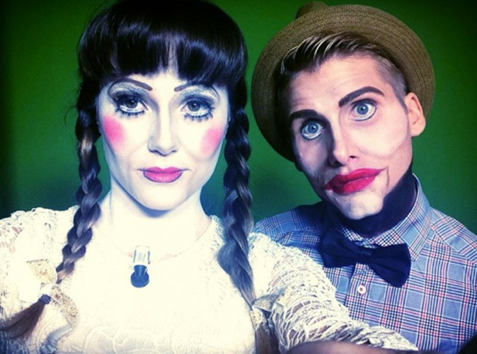 Capucine Anav et Beno�t Dubois : trop flippants pour Halloween !