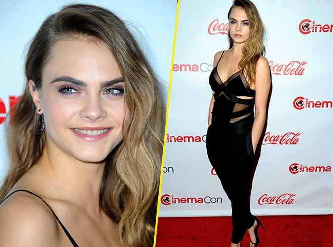 Photos : Cara Delevingne : actrice honorée au CinemaCon 2015 !