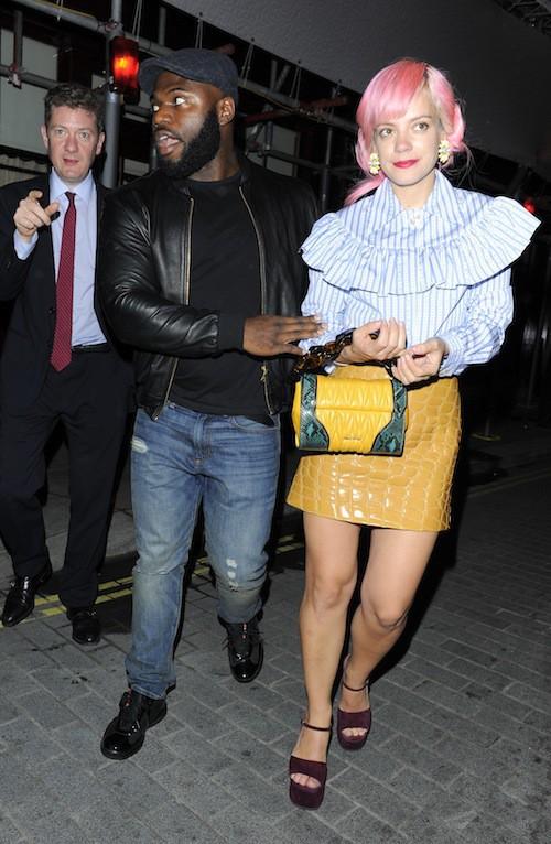 Lily Allen à Londres, le 21 septembre 2015