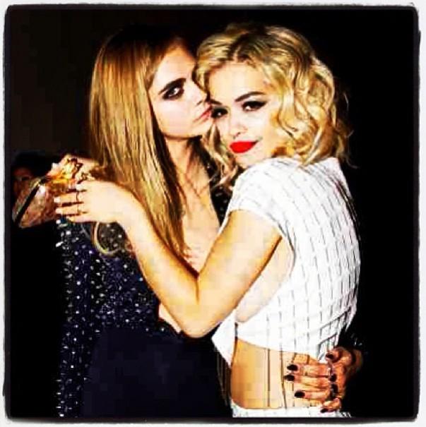 Cara Delevingne et sa BFF Rita Ora
