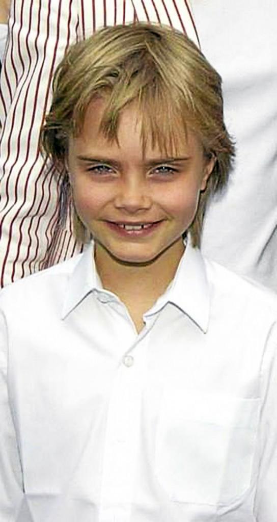 Les photos d'enfance de Cara Delevingne avec sa famille