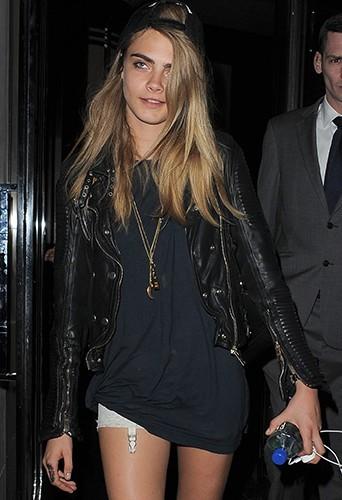 Cara Delevingne à Londres le 15 juin 2013