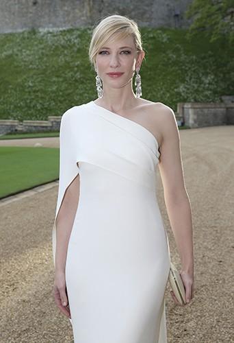 Cate Blanchett à Windsor le 13 mai 2014