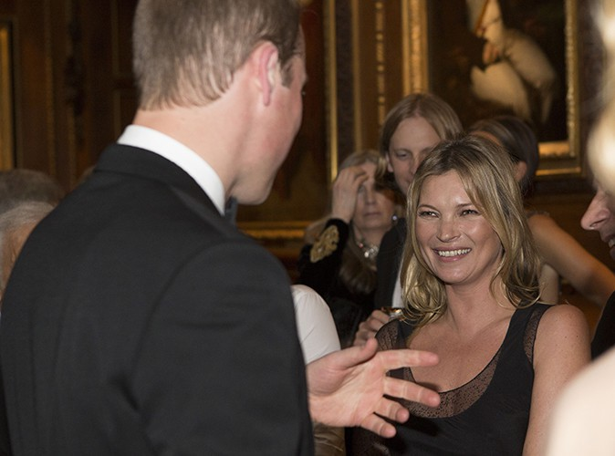 Le Prince William et Kate Moss à Windsor le 13 mai 2014