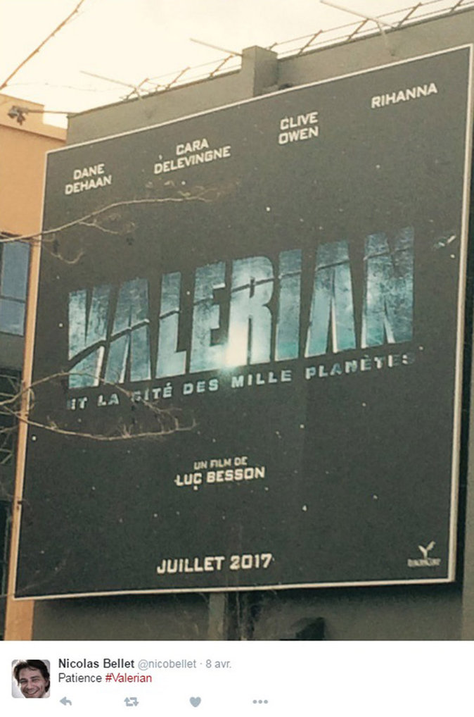 Affiche de Valérian