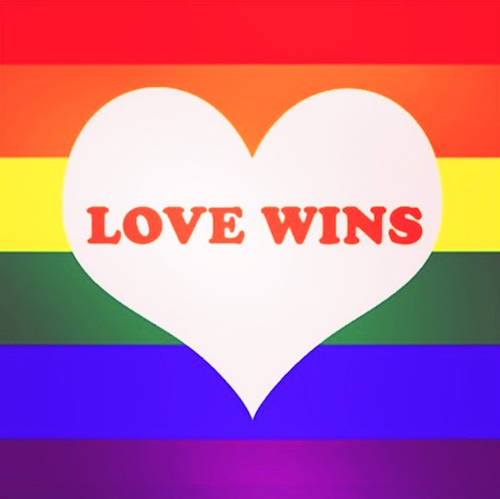 "Shanina Shayk : ""Marriage Equality in USA #lovewins"""