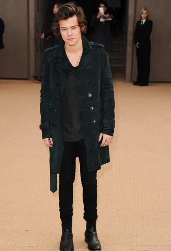 Harry Styles à Londres le 17 février 2014