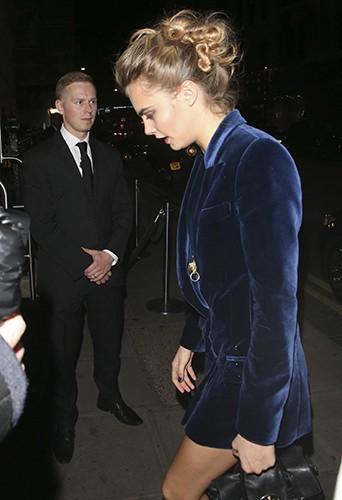 Cara Delevingne à Londres le 16 septembre 2014