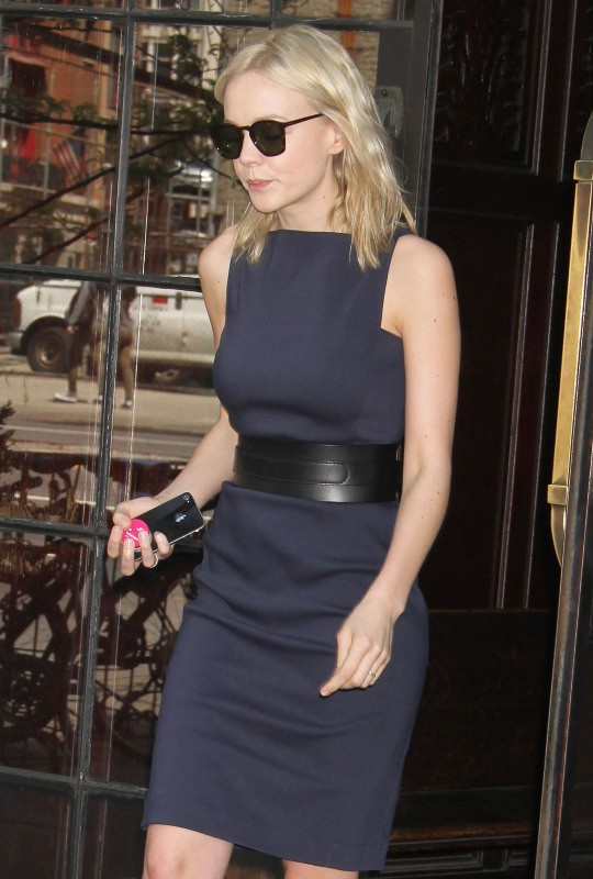 Carey Mulligan à New York, le 2 mai 2013.