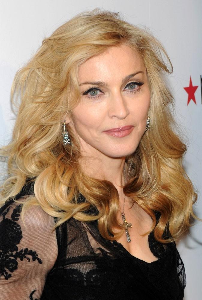 Photos : Madonna a travaillé chez un marchand de donuts