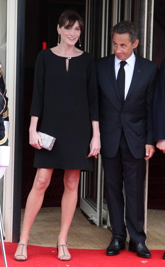 Carla Bruni et Nicolas Sarkozy à Deauville !