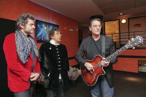 Matthoeu Chedid, Alain Souchon et Francis Cabrel au gala pour la recherche sur Alzheimer