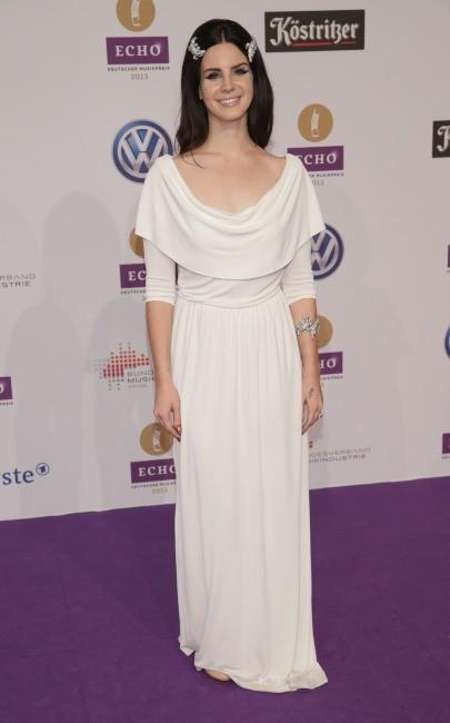 Lana Del Rey lors des Echo Music Awards à Berlin, le 21 mars 2013.