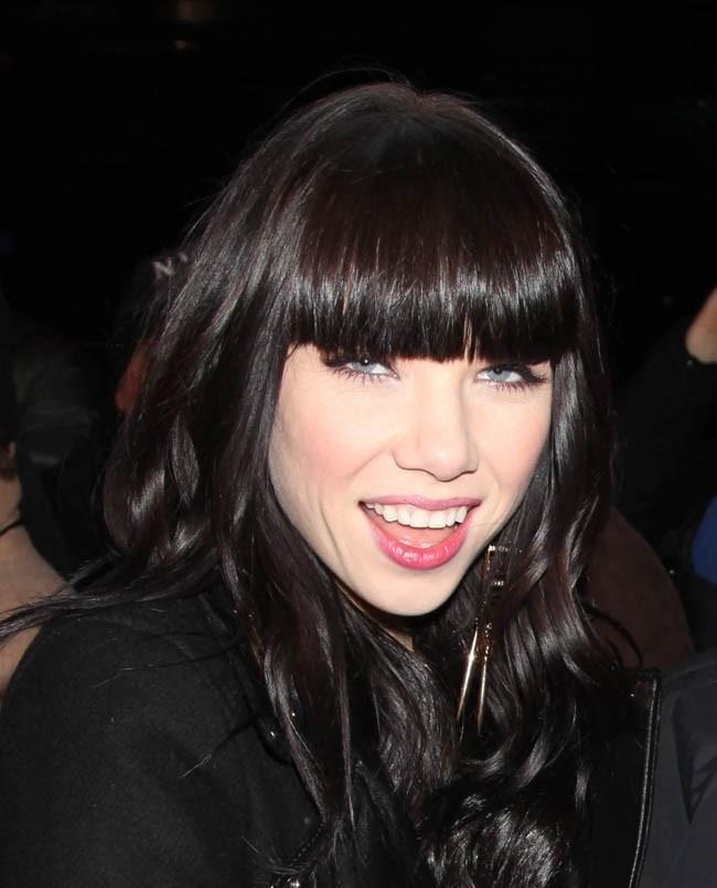 Carly Rae Jepsen le 31 décembre 2012 à New York
