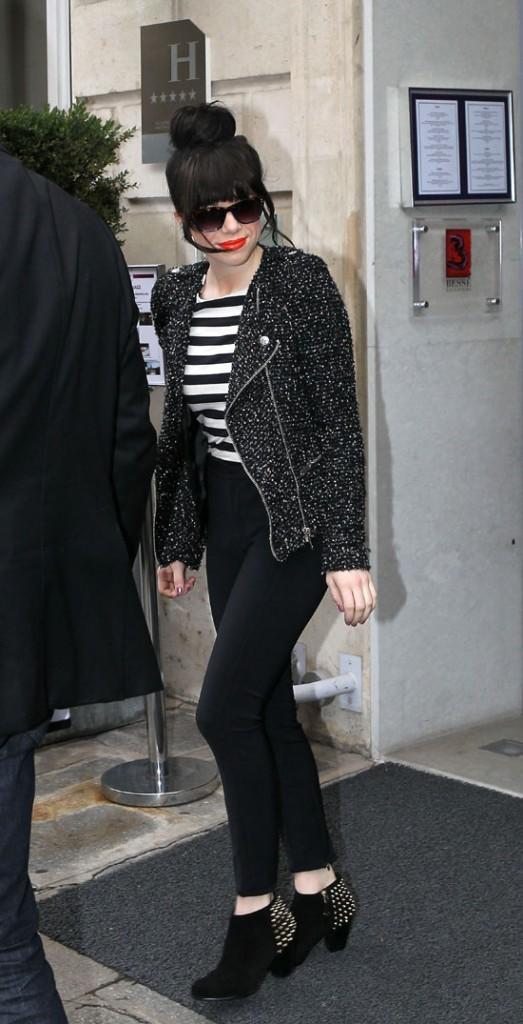 Carly Rae Jepsen à Paris le 14 novembre 2012