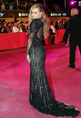 Carmen Electra à Vienne le 25 mai 2013