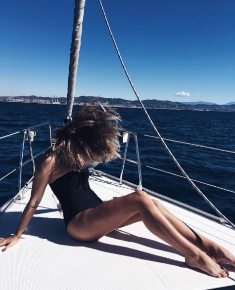 Photos : Caroline Receveur : aïe, aïe, aïe... c'est chaud !