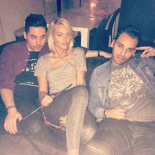 Photos : Caroline Receveur : soirée détente avec les deux amours de sa vie et Alban Bartoli !