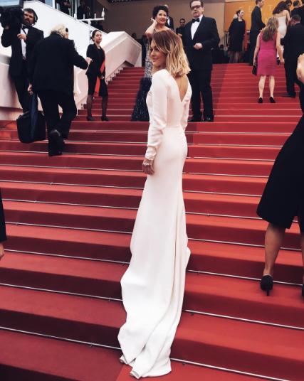 Photos : Caroline Receveur : son incroyable rencontre à Cannes !