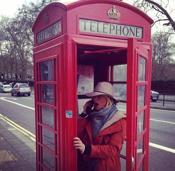 Photos : Caroline Receveur : week-end stylé à Londres avec son Valentin !
