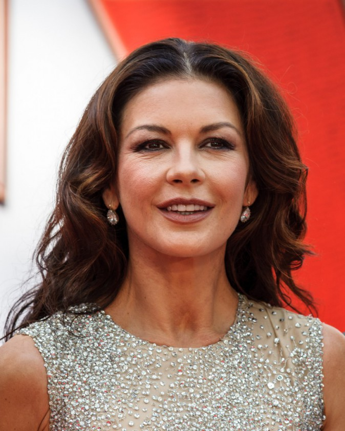 Catherine Zeta Jones le 8 juillet 2015
