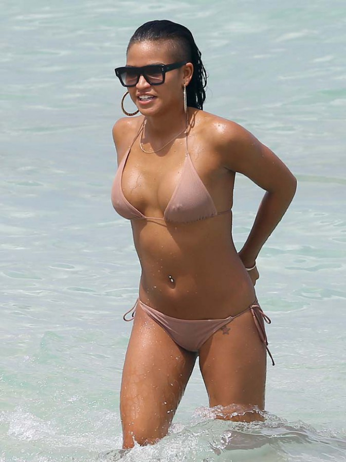 Cassie à Miami le 26 juillet 2013