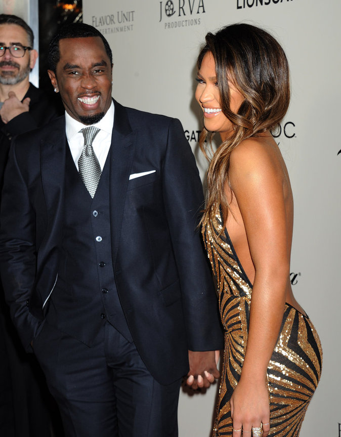 Cassie et Sean Combs