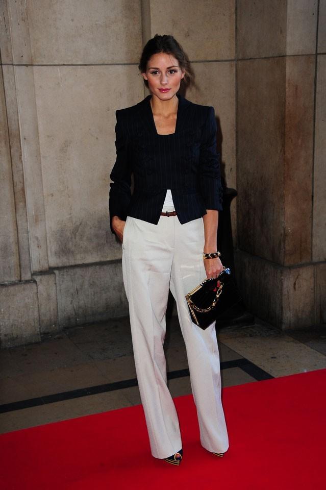 Olivia Palermo lors du défilé Giorgio Armani Privé à Paris, le 5 juillet 2011.