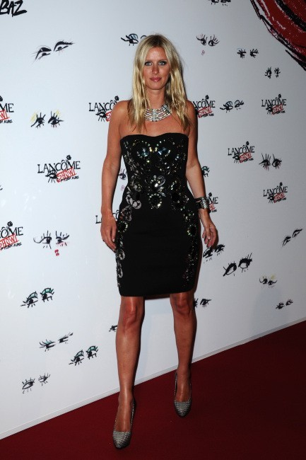 """Nicky Hilton lors de la soirée """"Lancôme Show by Alber Elbaz"""" à Paris, le 2 juillet 2013."""