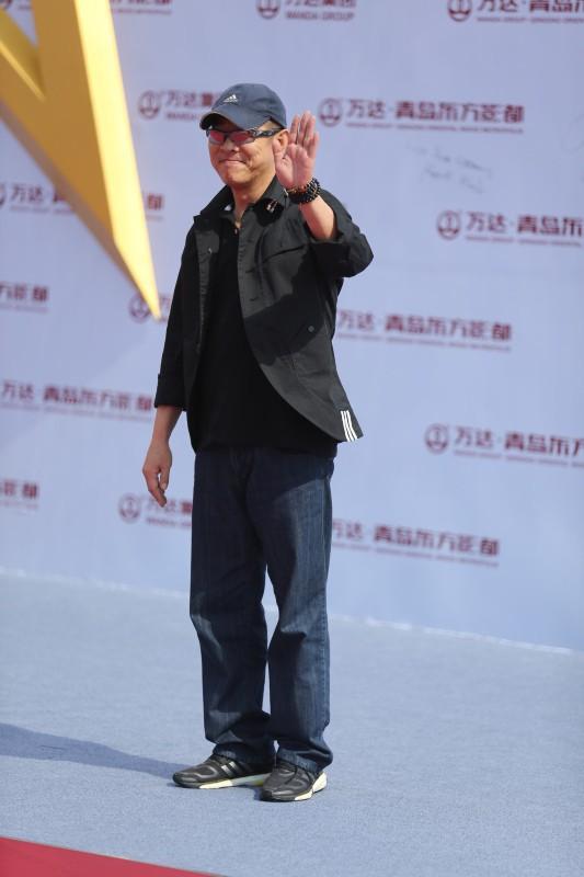 Jet Li lors de l'inauguration de l'Oriental Movie Metropolis Ceremony en Chine, le 22 septembre 2013.