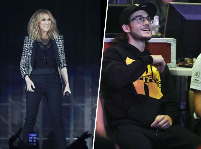 Céline Dion en concert à Paris : René-Charles était au premier rang !