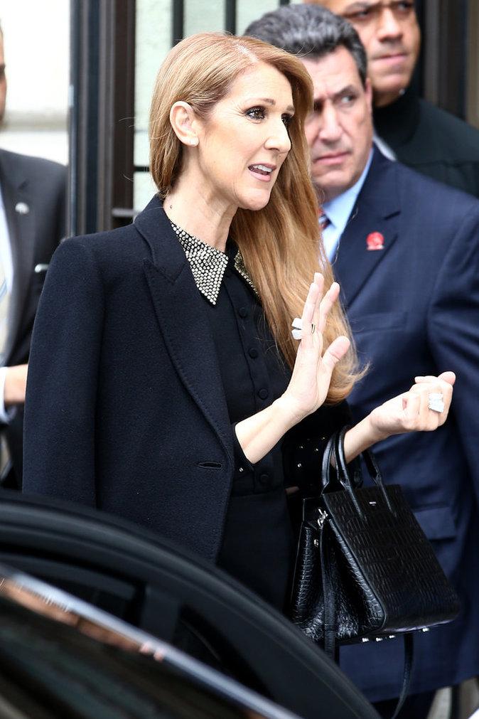 Photos : Céline Dion : La superstar joue la carte de l'élégance pour son retour à Paris !