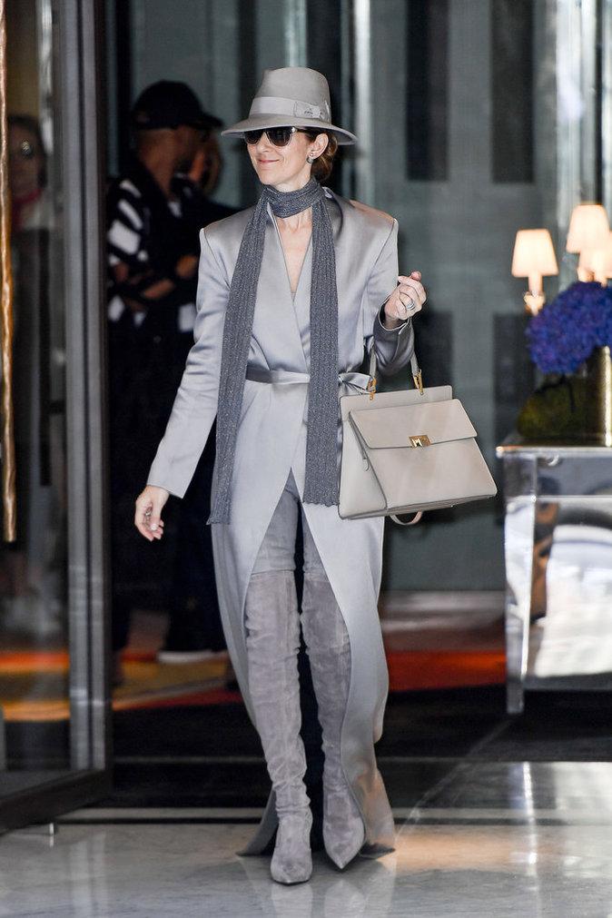 Céline Dion à Paris le 2 juillet 2016